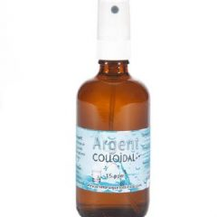 Spray argent colloïdal 100ml désinfection - 15ppm